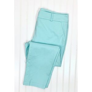 Talbots • The Daily Ankle Pant Sea Green • 12